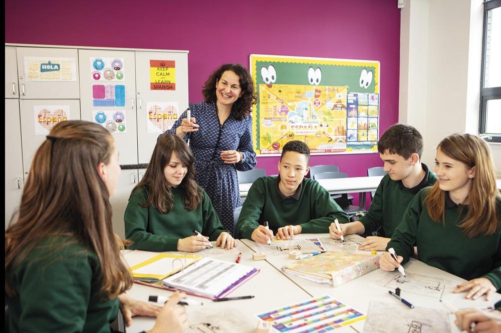 Spanish Teacher Teaching