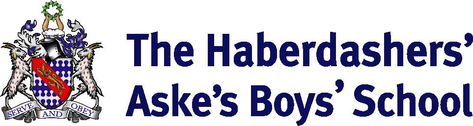 Lead School: The Haberdashers' Aske's Boys' School Logo